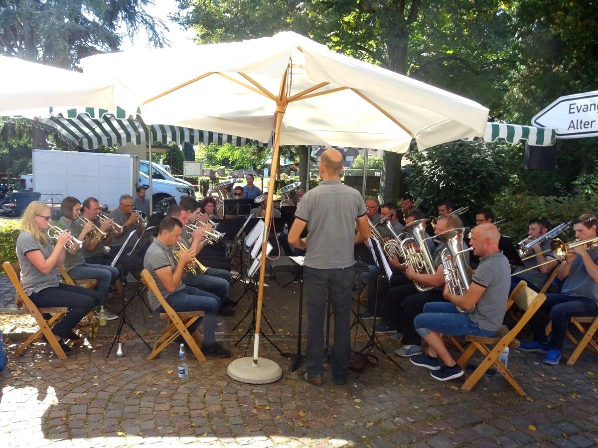 Befreundeten Musikverein in Deutschland besucht